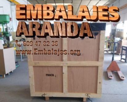 Embalaje madera Aracena Huelva