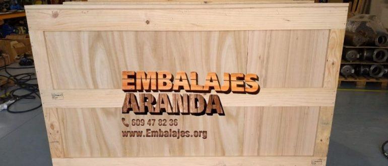 Embalaje madera Arboleas Almería