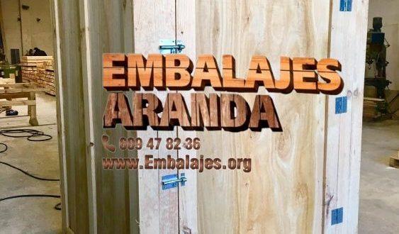 Embalaje madera Arenas de San Pedro Ávila