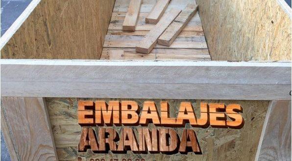 Embalaje madera Arenys de Mar Barcelona