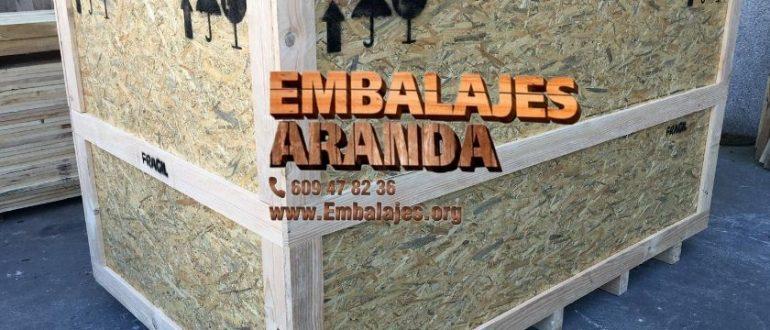 Embalaje madera Arévalo Ávila