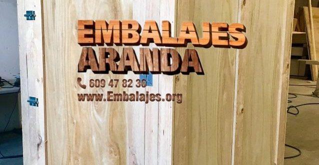 Embalaje madera Arganda del Rey Madrid