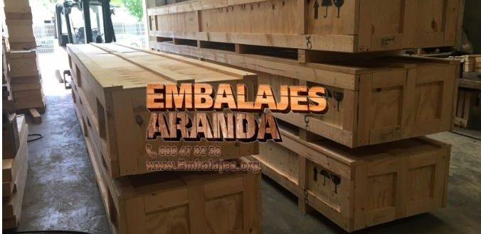 Embalaje madera Arjona Jaén