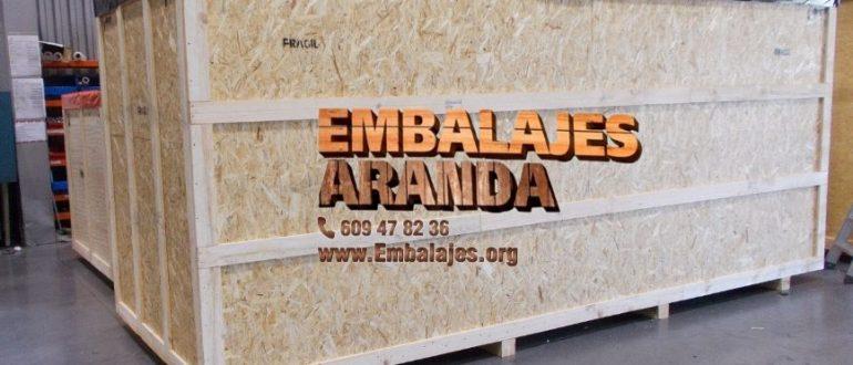 Embalaje madera Arona Santa cruz de Tenerife