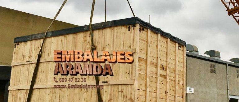 Embalaje madera Arrasate Mondragón Gipuzkoa