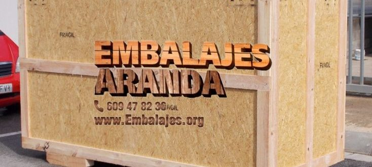 Embalaje madera Arriate Málaga
