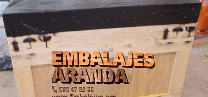 Embalaje madera Arrigorriaga Bizkaia