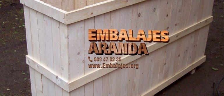 Embalaje madera Arroyo de San Serván