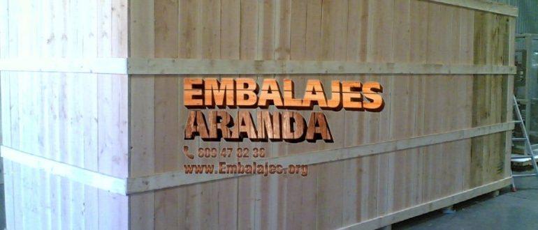 Embalaje madera Arroyo de la Encomienda