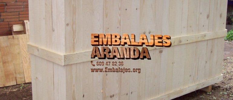 Embalaje madera Artà Illes Balears