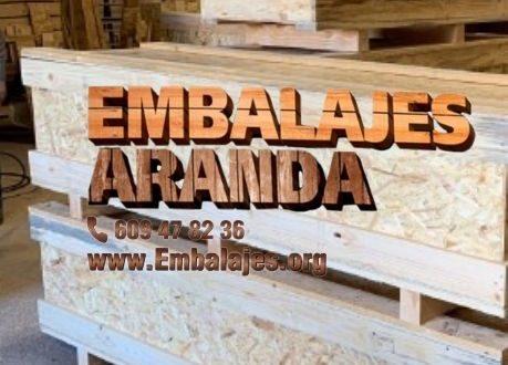 Embalaje madera Arteixo A Coruña