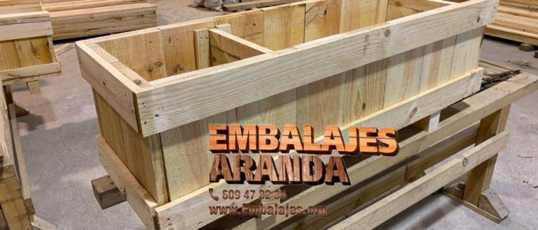 Embalaje madera Artés Barcelona