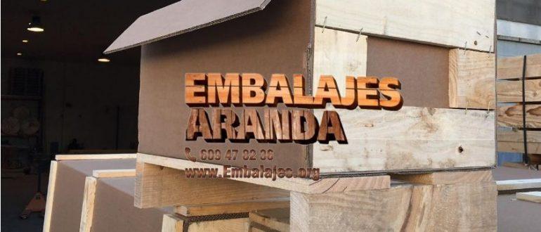 Embalaje madera As Neves Pontevedra