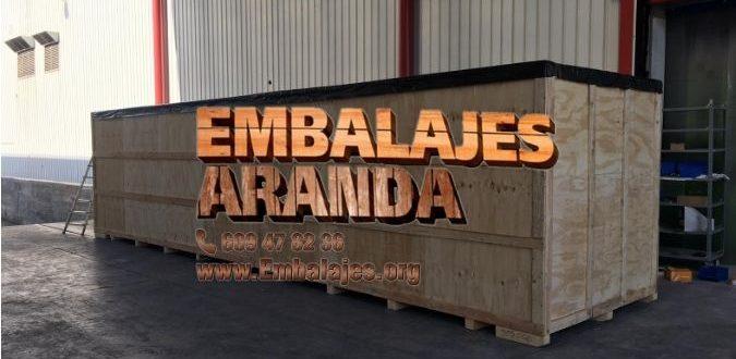 Embalaje madera Astigarraga Gipuzkoa
