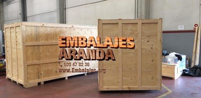 Embalaje madera Avilés Asturias
