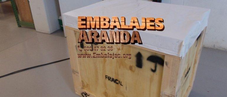 Embalaje madera Ayamonte Huelva