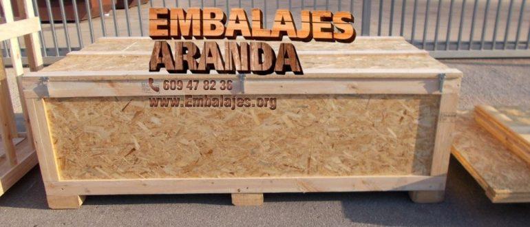 Embalaje madera Ayora València
