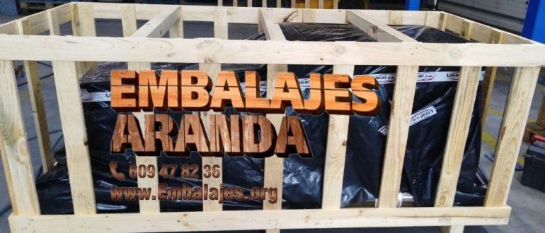 Embalaje madera Aznalcázar Sevilla
