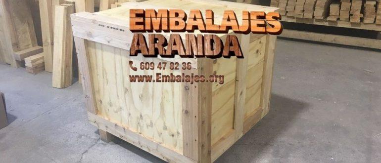Embalaje madera Azuaga Badajoz