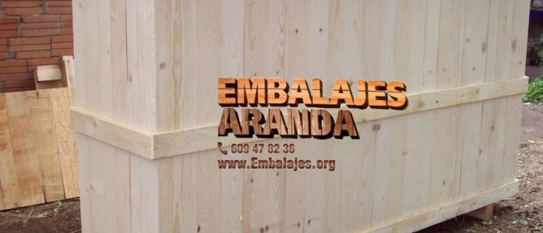 Embalaje madera Badajoz Extremadura