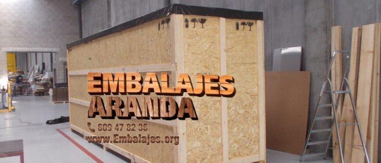 Embalaje madera Badalona Barcelona