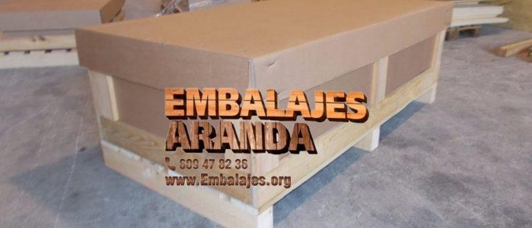 Embalaje madera Baena Córdoba