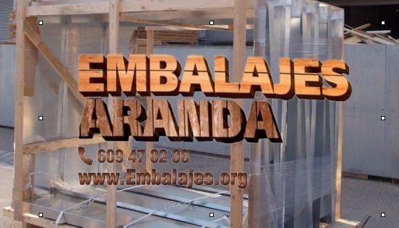 Embalaje madera Bailén Jaén