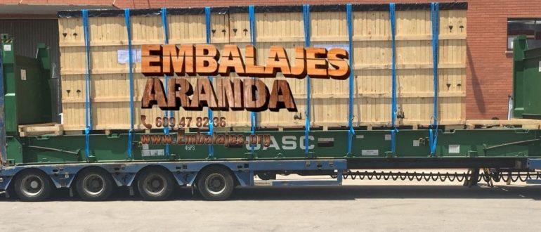 Embalaje madera Balaguer Lleida