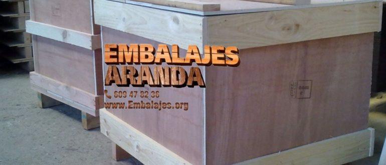 Embalaje madera Banyoles Girona