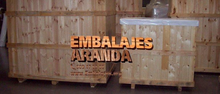 Embalaje madera Barakaldo Bizkaia