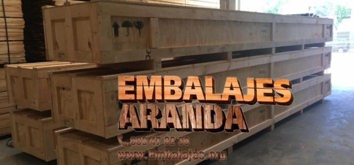 Embalaje madera Barbate Cádiz