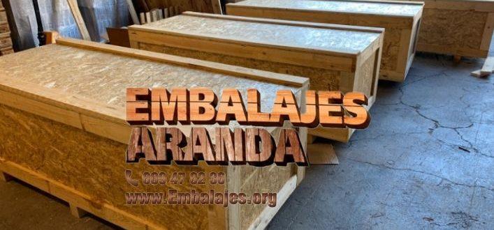 Embalaje madera Barberà del Vallès