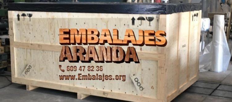 Embalaje madera Bargas Toledo