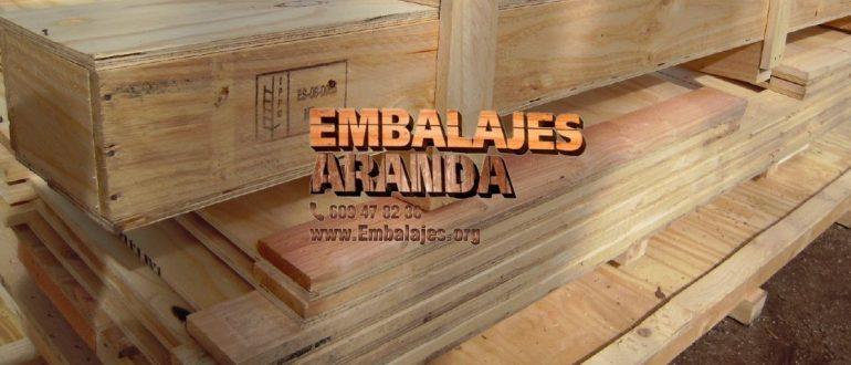 Embalaje madera Barro Pontevedra