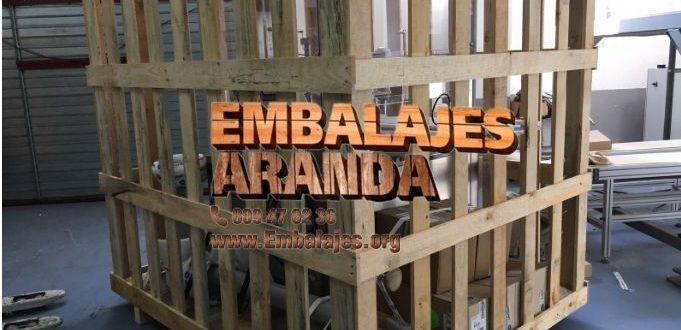 Embalaje madera Bayona Pontevedra
