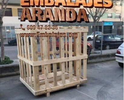Embalaje madera Beas de Segura Jaén