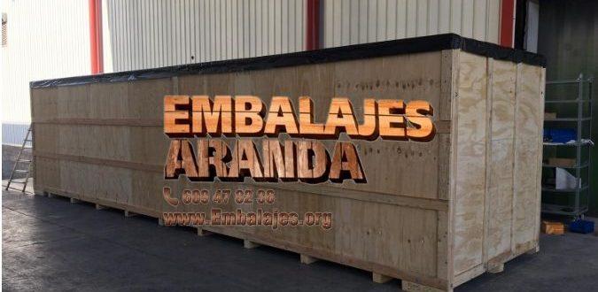 Embalaje madera Béjar Salamanca