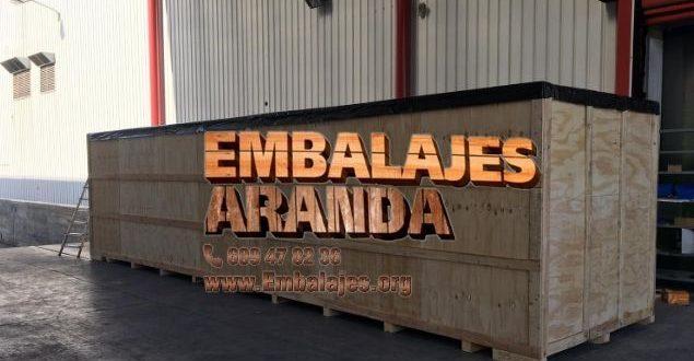 Embalaje madera Bellpuig LLeida
