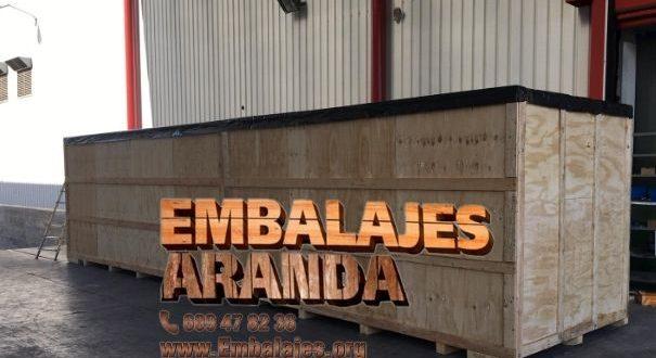 Embalaje madera Bellreguard València