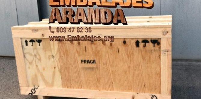Embalaje madera Benacazón Sevilla