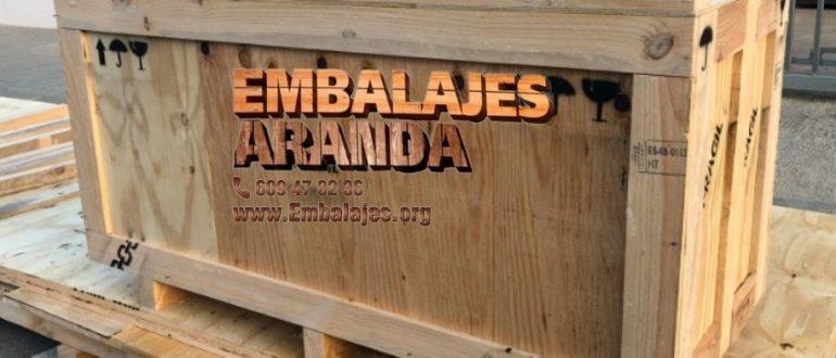 Embalaje madera Benaguasil València