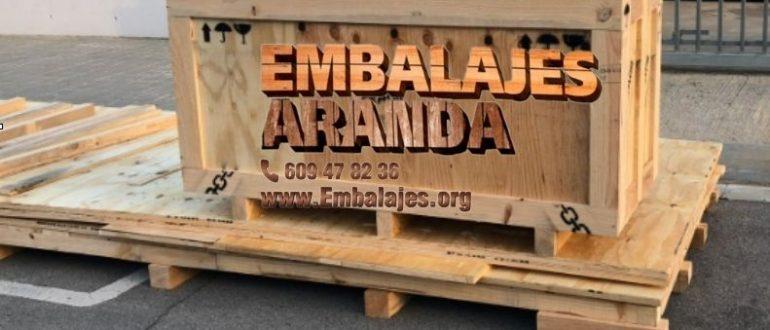 Embalaje madera Benahadux Almería