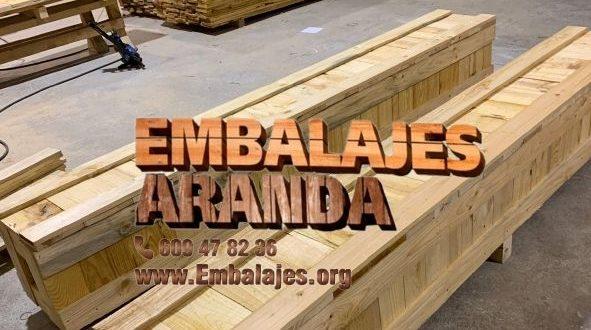 Embalaje madera Benavente Zamora