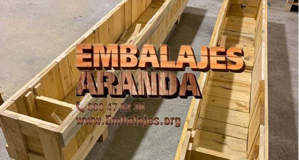 Embalaje madera Benejúzar Alicante