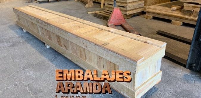 Embalaje madera Benicarló Castelló