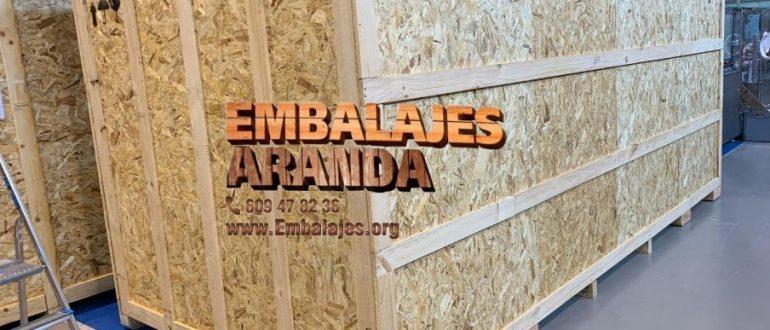 Embalaje madera Benidorm Alicante