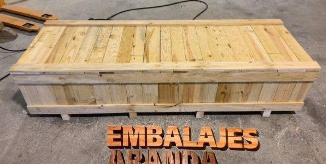 Embalaje madera Benifaió València