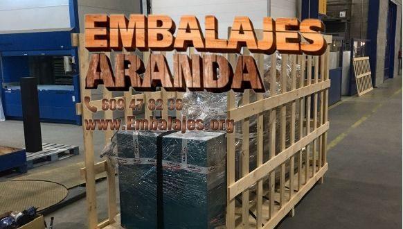Embalaje madera Benigànim València