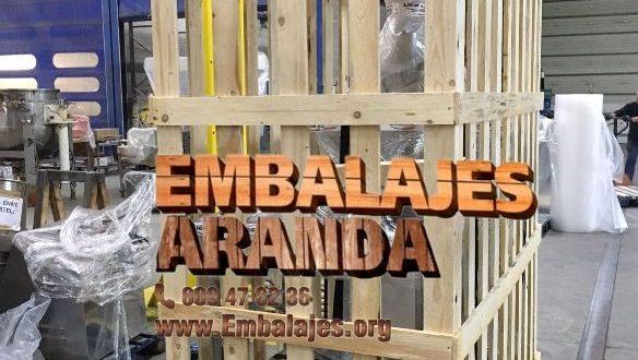 Embalaje madera Benissa Alicante