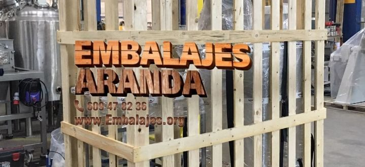 Embalaje madera Bera/Berako Navarra